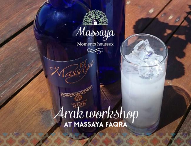 Arak workshop at faqra