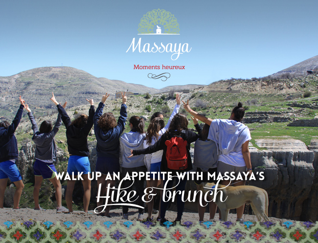 WALK UP AN APPETITE WITH MASSAYA'S HIKE AND BRUNCH