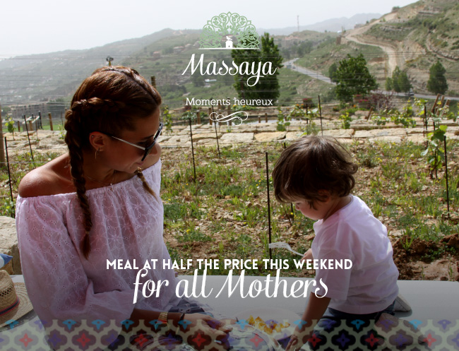 A treat from Massaya on Mother's day