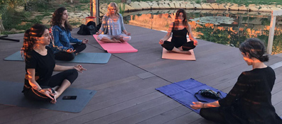 Yoga workshop with ghada ghosn