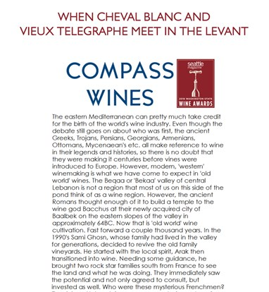 Compass wines - By Seattle Magazine