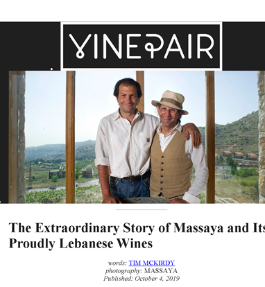 The extraordinary story of Massaya and its proudly Lebanese wines